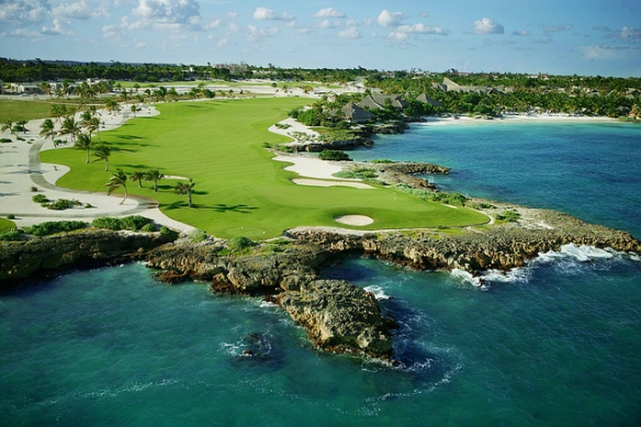 Punta Espada golfbanen i Punta Cana