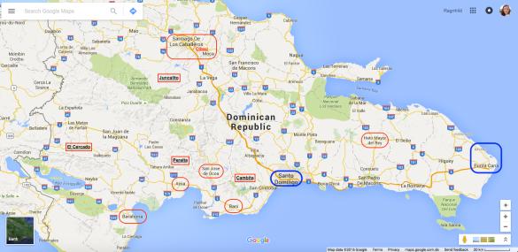 Dominikansk Kaffe Kort